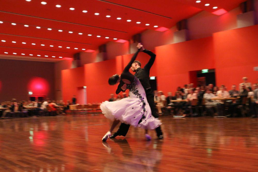 Ein Abschlussball der Tanzschule Schulte